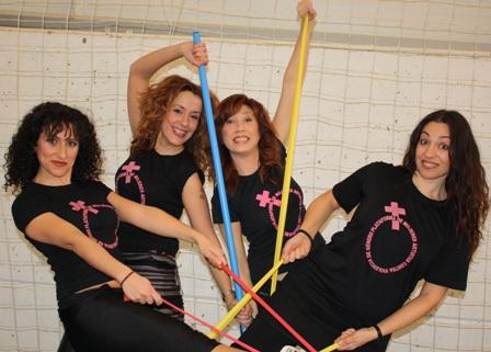 PILATES: 4 Mujeres, 4 Causas